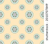 fabric repeat pattern  seamless ... | Shutterstock .eps vector #2010707849