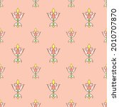 fabric repeat pattern  seamless ... | Shutterstock .eps vector #2010707870
