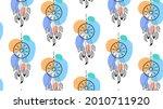 dream catchers colorful vector...   Shutterstock .eps vector #2010711920