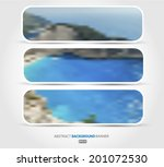 abstract set blurred background ... | Shutterstock .eps vector #201072530