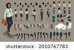 iisometric set of hand gestures ...   Shutterstock .eps vector #2010767783