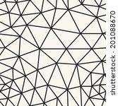 seamless pattern. irregular... | Shutterstock .eps vector #201088670