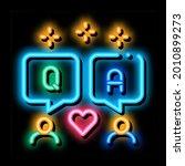 people love dialogue neon light ...   Shutterstock .eps vector #2010899273