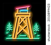 Rescue Forest Tower Neon Light...