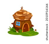 fairy wooden house or dwelling...