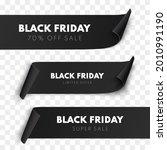 black friday sale ribbon... | Shutterstock .eps vector #2010991190