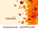 happy thanksgiving background.... | Shutterstock .eps vector #2010991196