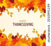 happy thanksgiving background.... | Shutterstock .eps vector #2010991199