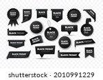 black friday sale ribbon... | Shutterstock .eps vector #2010991229