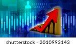 3d rendering stock market... | Shutterstock . vector #2010993143