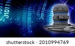 3d rendering database storage... | Shutterstock . vector #2010994769