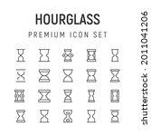 premium pack of hourglass line...