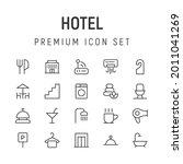 premium pack of hotel line...