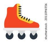 adventurous footwear icon  flat ...   Shutterstock .eps vector #2011096556