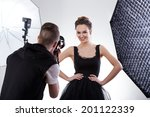 Fashion Photographer And Model...