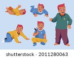 stages of a baby. process stage....   Shutterstock .eps vector #2011280063