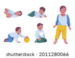 stages of a baby. process stage....   Shutterstock .eps vector #2011280066