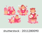 stages of a baby. process stage....   Shutterstock .eps vector #2011280090
