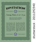 formal invitation. good design. ... | Shutterstock .eps vector #2011292540