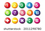 collection of realistic icons.... | Shutterstock .eps vector #2011298780