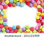Colorful Candies Frame ...