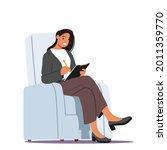 businesswoman character wearing ... | Shutterstock .eps vector #2011359770