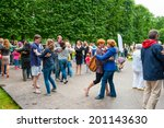 moscow   june 15  people attend ... | Shutterstock . vector #201143630