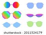 trendy sunglasses frames with...   Shutterstock .eps vector #2011524179