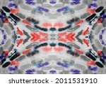 red color stain. wash tie dye...   Shutterstock . vector #2011531910