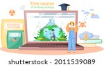 free course of studying ecology ...   Shutterstock .eps vector #2011539089