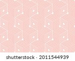 abstract geometric pattern. a...   Shutterstock .eps vector #2011544939