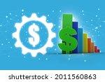 3d rendering stock market... | Shutterstock . vector #2011560863