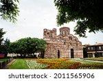 The church of Christ Pantocrator is a medieval eastern orthodox church, Nesebar Bulgaria.