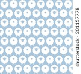 Seamless Vector Pattern Of Cut...
