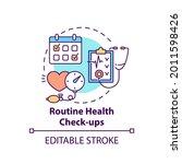 routine health checkups concept ... | Shutterstock .eps vector #2011598426
