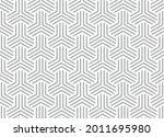 abstract geometric pattern with ...   Shutterstock .eps vector #2011695980