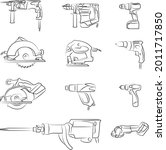 Power Tool. Rotary Hammer ...