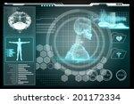 digitally generated medical... | Shutterstock . vector #201172334