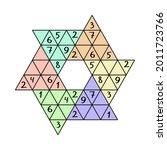 star sudoku game for children... | Shutterstock .eps vector #2011723766