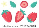 collection of juicy...   Shutterstock .eps vector #2011760813