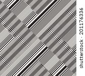 abstract ornate striped... | Shutterstock . vector #201176336