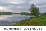 During Fishing  The Fishing Rod ...