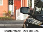 mysterious vehicle parked...   Shutterstock . vector #201181226