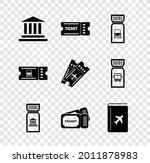 set museum building  ticket ...   Shutterstock .eps vector #2011878983