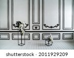 Vintage Black And White Wall...