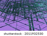 neon glowing surface with...   Shutterstock . vector #2011932530