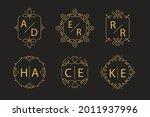 wedding monogram. vintage... | Shutterstock .eps vector #2011937996