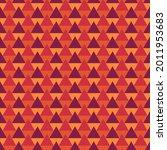 seamless pattern. triangles... | Shutterstock .eps vector #2011953683