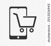 transparent online shop icon...
