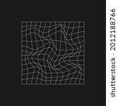retrofuturistic rectangle grid...   Shutterstock .eps vector #2012188766